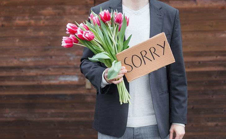 Virgo Man Apologizing