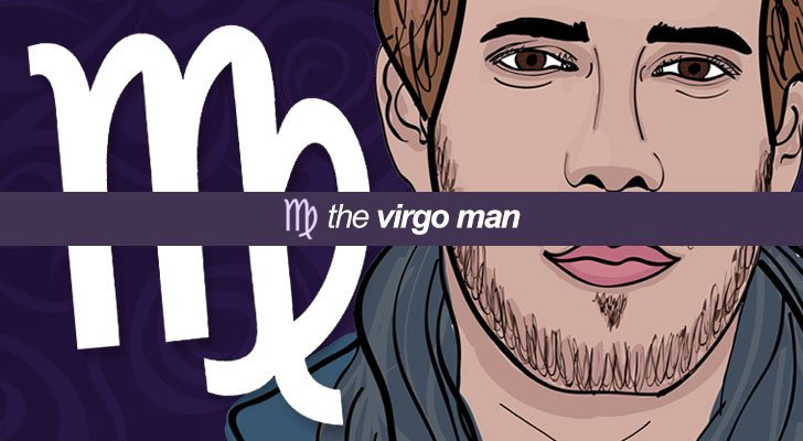 The virgo man